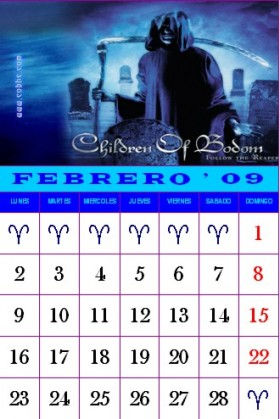 Febrero Children Of Bodom