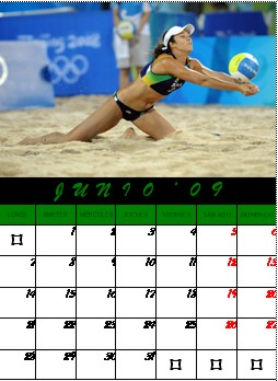 Junio- Voley Playa.